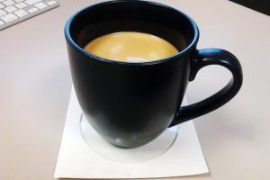 Preconscious prediction: Hawkins' blue coffee cup